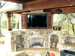fireplace tv patio backyard designs outdoor and with pictures electric gas fireplaces for patios