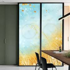 glass door stickers rice drifting window paper glass sliding doors glass door stickers bedroom decoration glass door stickers