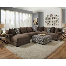 maximizing the use of curved sectional sofa. Franklin Cadet Five Seat Sectional With Left Facing Chaise - Item Number: 80885+2x03 Maximizing The Use Of Curved Sofa