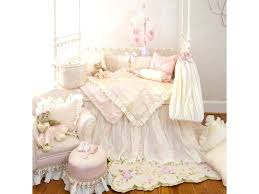 peach and white bedroom upholstered furniture luxury girls crib bedding by princess baby set sets