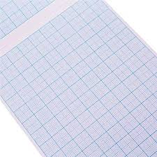 Graph Papper A4 Math Pad Graph Paper 2 10 20mm Square Grid 80 Page School Office Workbook