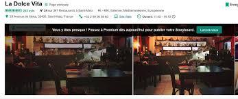 La Dolce Vita Restaurant Italien Ristorante Italiano Saint Malo