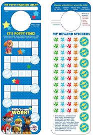 Paw Patrol Potty Training Chart Stickers 79 Paw Patrol