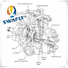 swafly supplied excavator parts 4jb1 fuel injector pump assembly swafly supplied excavator parts 4jb1 fuel injector pump assembly