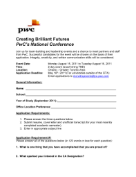 Brilliant Ideas Of Pwc Cover Letter Tips Creative Cover Letter For