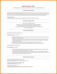 5 Dental Assistant Description For Resume Cashier Resumes
