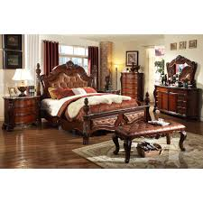 Meridian Bedroom Furniture Luxor Cherry Bed Multiple Sizes By Meridian Furniture Luxor Q