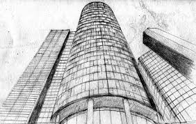 architectural drawings of skyscrapers.  Skyscrapers Tall Buildings Sketch Skyscrapers Pencil Drawing By AMNdesigns  With Architectural Drawings Of Skyscrapers C