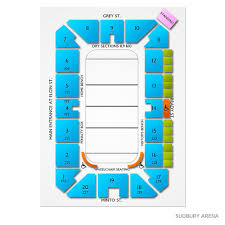 Barrie Colts Arena Seating Chart Barrie Colts At Sudbury Wolves Fri Jan 3 2020