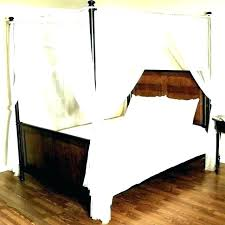 canopy bed curtains queen – dictateam.info
