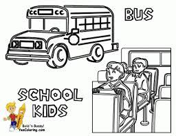 Small Picture Coloring Pages Free Printable School Bus Coloring Pages