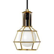 Work Lamp Gold Nordic New