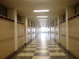 hallway at school. school hallways by fallenangelstock hallway at