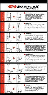 Bowflex Xtl Exercise Wall Chart Exercise Routines Bowflex Xtl Exercise Routines