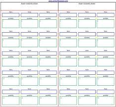 Printable Boxing Pool Office Pool Sheet Template
