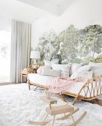 Image Room Emily Henderson Baby Girls Blush And Green Nursery Get The Look Emily Henderson