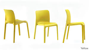 stackable plastic chairs. Modern Yellow Plastic Dining Chairs. Stackable Chairs I