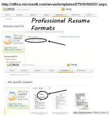 Different Types Of Resumes Three Common Resume Formats