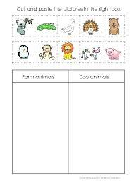 Best Worksheets Farm Animals Math Preschoolers Worksheet Related ...