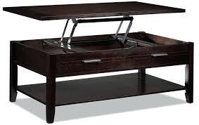 coffee table espresso finish lift top coffee table espresso finish 4 threshold coffee table espresso finish