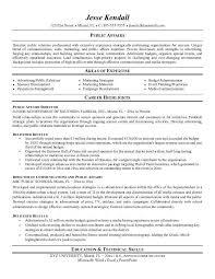 Public Relations Resume Magnificent Public Relations Resume Examples Public Relations Pinterest