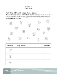 2nd Grade Math Charts Related Post Tally And Frequency Table Worksheets Chart For