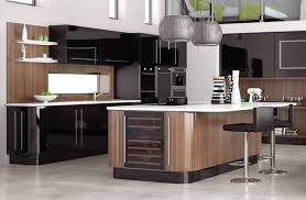 New York Black Hi Gloss Interior Design Kitchen Design Ideas