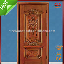 Bedroom Entry Main Teak Wood Door Design