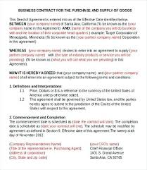 Premium Business Partnership Contract Template Forms Pdf ...