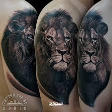 лев татуировки в подольске Rustattooru
