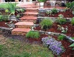 building stone steps for mules gardens