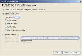 Extreme Management Center Tos Dscp Configuration Window Legacy