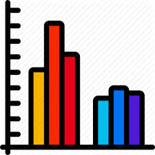 Bar Chart Clipart Data Science Bright Fill By Juicy Fish