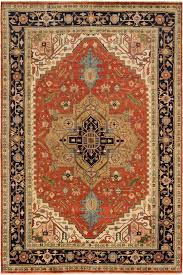 striking and majestic they reflect the famous geometric serapi designs and colors of the older persian heriz rugs these stunning area rugs