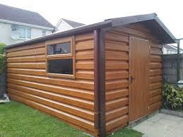 Small Picture image may contain car contemporary garden sheds galway sheds