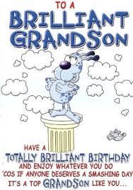 Grandson Quotes Unique Grandson Birthday Card Grandson Birthday Card Unique Birthday Card