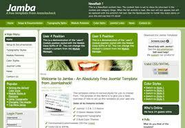 Free Joomla Template Js Jamba Template Free