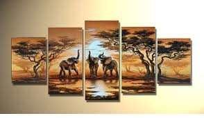 landscape interior stunning admirable out of the box ideas painted five panels large rectangular elephant sun five piece maroon abstract large wall art  on rectangular wall art panels with wall art fascinating images about wall art canvas sets canvas