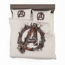 avengers logo print bedding set2 600x600 avengers logo print bedding set