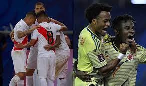 Colombia Vs Peru 2021 Eliminatorias
