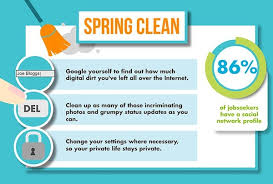Tips For Job Seekers Infographic Social Media Tips For Jobseekers Designtaxi Com