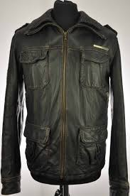 superdry uk official superdry leather jacket brad medium brown superdry coats