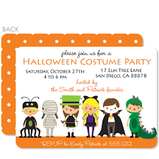 Costume Party Invitation Pipsy