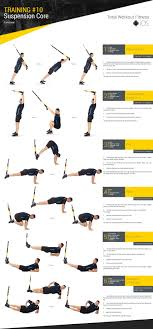 10 suspension core total workout fitness