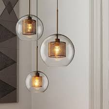 decorative lights for living room in addition to nordic modern simple glass ball single head e27 led pendant lights regarding invigorate your living room
