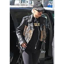 fifty shades darker rita ora real leather jacket women stylish leather jackets