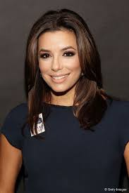 eva longoria with a layered out