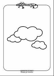 Small Picture brilliant cloud outline coloring page with cloud coloring page