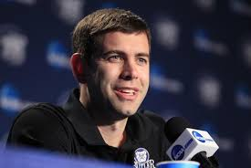 Brad Stevens was just officially named the new coach of the Boston Celtics, and at just 36 years of age, already owns an impeccable résumé. - chi-brad-stevens-boston-celtics-20130703-001