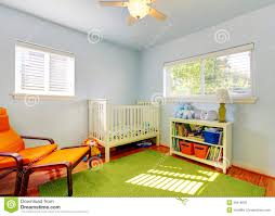 baby boy room rugs. Baby Nursery Room Design With Green Rug, Blue Walls And Orange Chair. Boy Rugs A